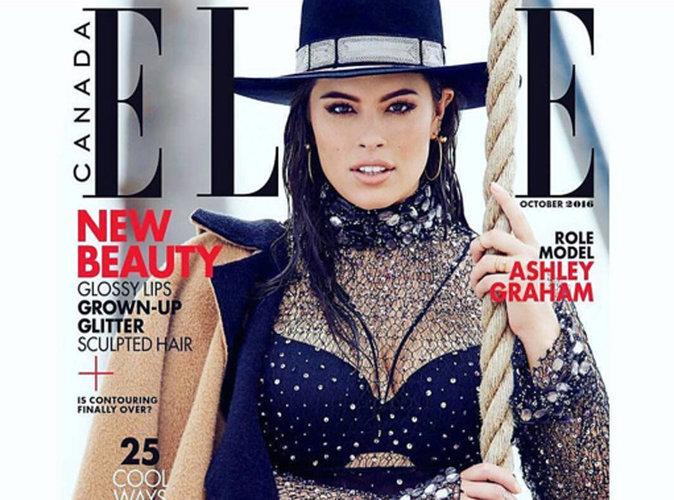 """Ashley Graham : en couverture du ELLE Canada, elle est le """"modèle"""" à suivre !"""