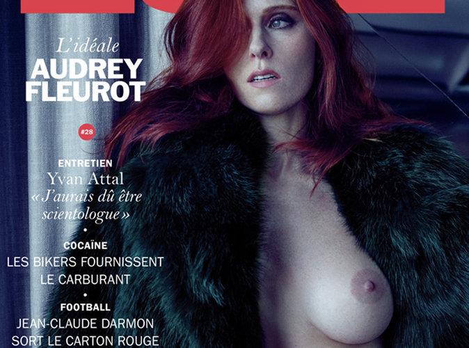 Audrey Fleurot : L'actrice française dévoile toute sa poitrine en couverture de Lui !
