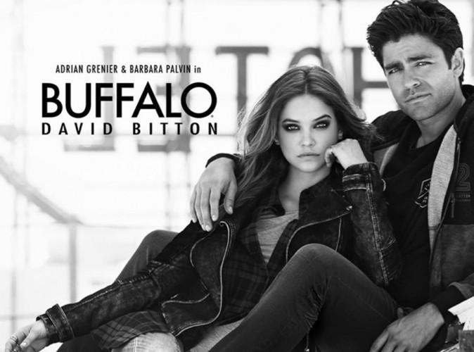 Barbara Palvin et Adrian Grenier (Entourage) en couple pour Buffalo David Bitton !