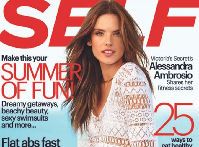 """Beauté : Alessandra Ambrosio : """"des fesses parfaites ne font pas d'une personne quelqu'un de génial"""" !"""
