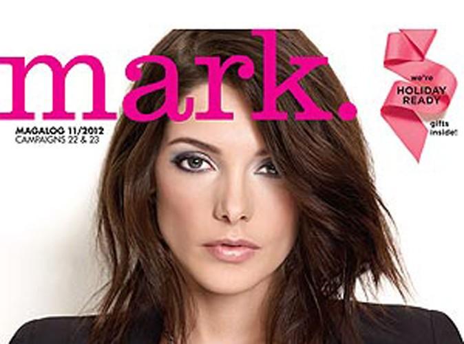 Beauté : Ashley Greene toujours aussi sublime pour les cosmétiques Mark !