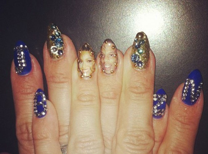 Beauté : Beyoncé aime sa famille jusqu'au bout des ongles !