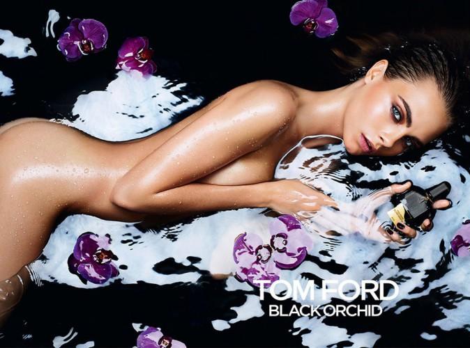 Beauté : Cara Delevingne : une sirène désarmante pour Black Orchid de Tom Ford…