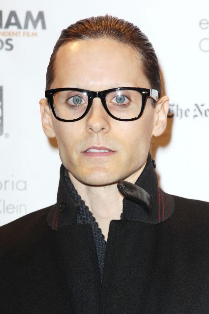 Jared Leto et son fond de teint ...