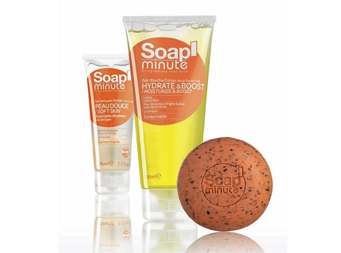 Beauté : découvrez les nouvelles gammes Soap' Minute et Hair' Minute de Body' Minute !