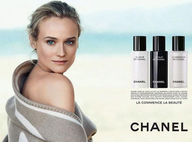 Beauté : Diane Kruger : désarmante de sensualité pour Chanel !