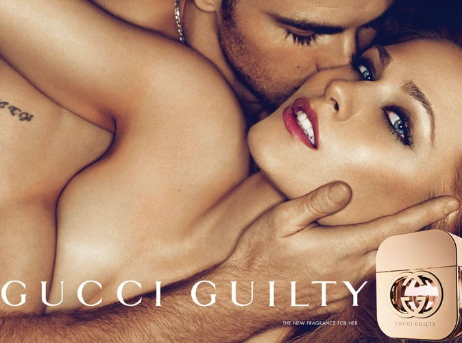 Beauté : Evan Rachel Wood/Chris Evans, le couple sulfureux du parfum Guilty de Gucci !