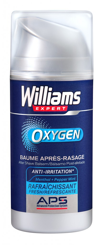 Baume après-rasage, Williams Expert Sensitive