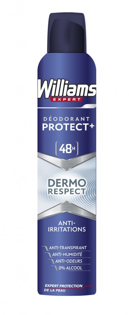 Déodorants Protect+ (48h) Williams
