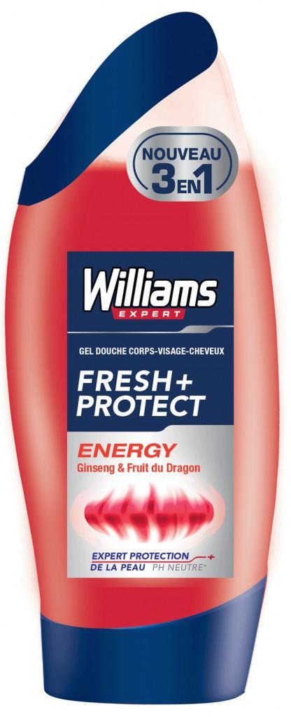Gels douche 3 en 1 Williams