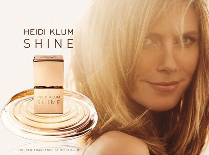 Beauté : Heidi Klum se met au parfum et dévoile sa première fragrance, Shine !