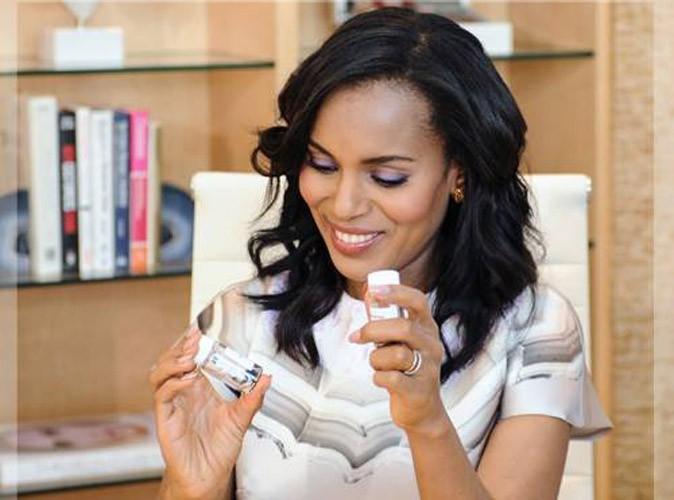 Beauté : Kerry Washington : la personnalité la mieux habillée au monde devient égérie et consultante pour Neutrogena !