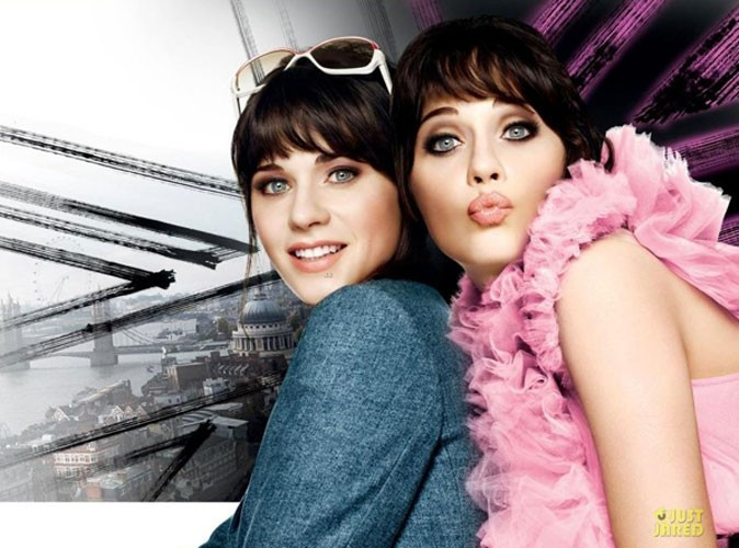 Beauté : la nouvelle campagne de pub Rimmel de Zooey Deschanel !