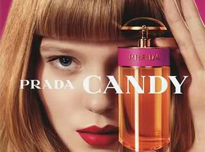 Beauté : Léa Seydoux est la nouvelle égérie du parfum Candy de Prada !