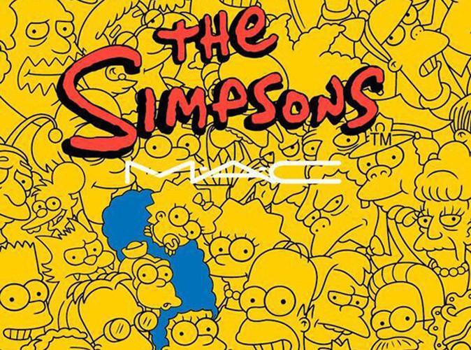 """Beauté : M.A.C choisit Marge Simpsons comme égérie beauté... """"Ooh punaise"""" !"""