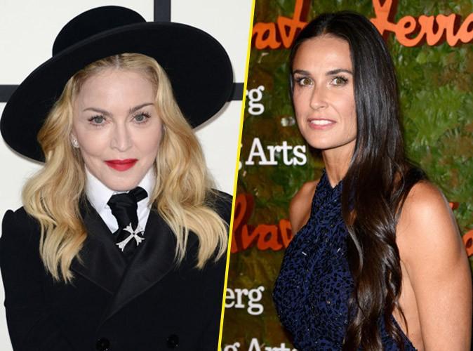 Beauté : Madonna et Demi Moore : un régime complètement fou !