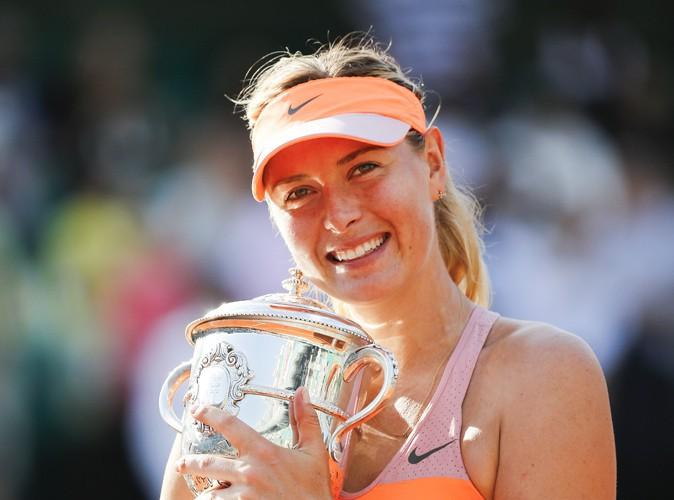 Beauté : Maria Sharapova : la gagnante de Roland Garros est la nouvelle égérie des parfums Avon Luck !