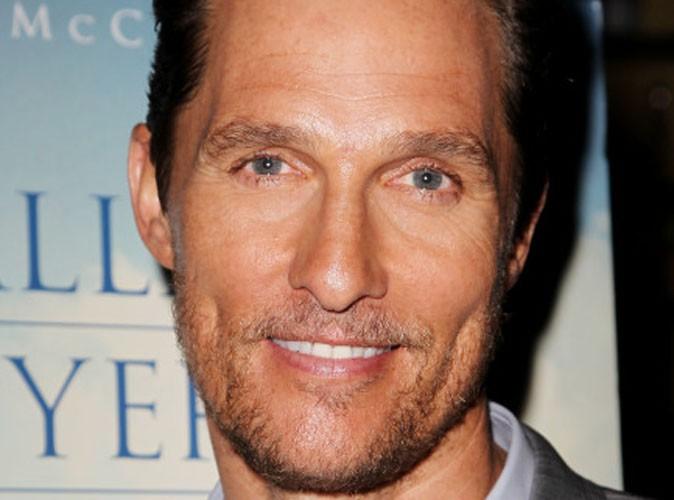 Beauté : Matthew McConaughey se confie sur ses problèmes d'acné !
