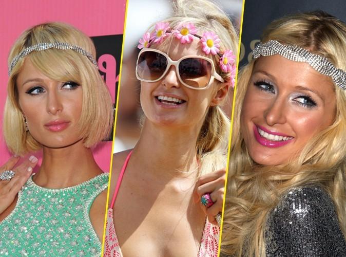 Beauté : Mode d'emploi du headband de Paris Hilton !
