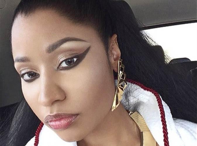 """Beauté : Nicki Minaj : """"Si je m'endormais maquillée, je serais envahie par les boutons !"""""""