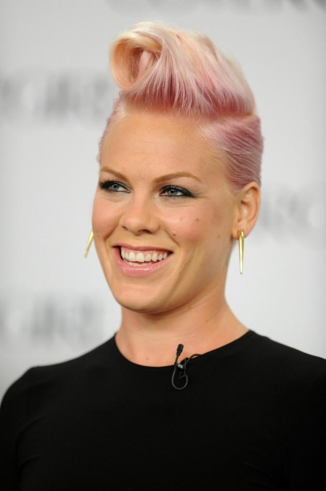 Pink, nouvelle égérie Covergirl, le 6 août 2012 à Los Angeles