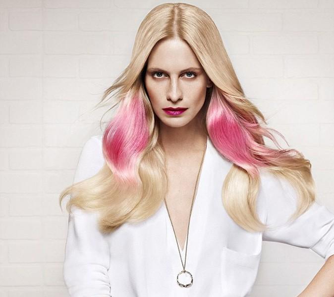 """Beauté : Poppy Delevingne se la joue """"Color in the (h)air pour L'Oréal !"""
