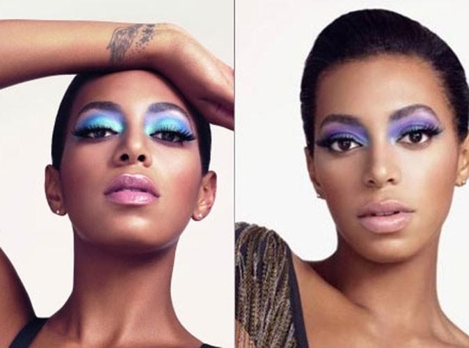 Beauté : premières photos de Solange Knowles en égérie glamour du maquillage Rimmel London !