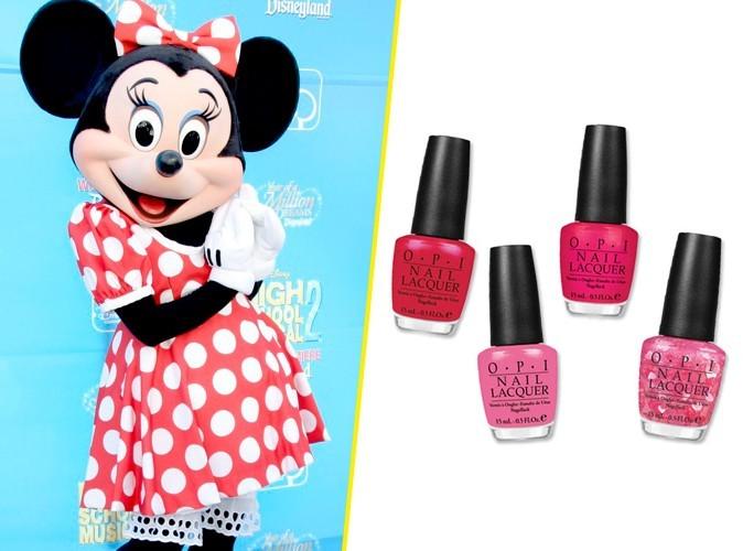 Beauté : quand Minnie Mouse collabore avec OPI…