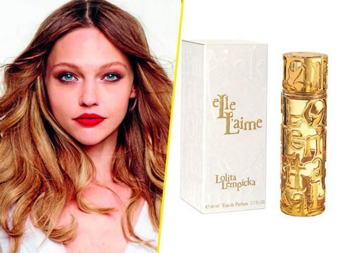 Beauté : Sasha Pivovarova : Elle l'aime, la nouvelle fragrance Lolita Lempicka !