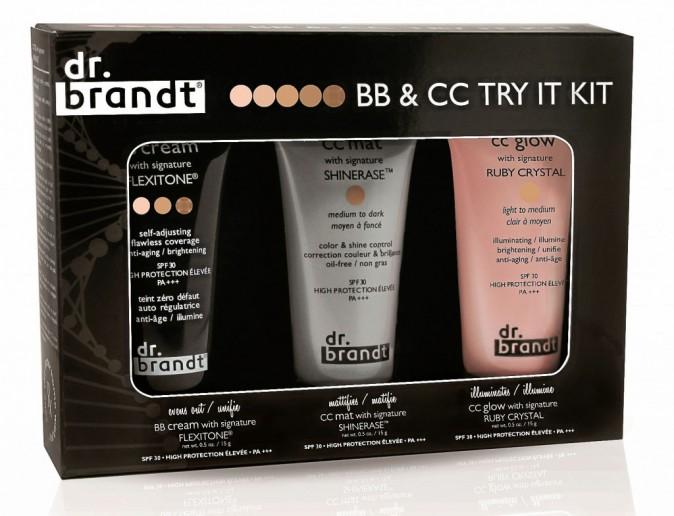 Try it Kit 1 BB et 2 CC crèmes, Dr. Brandt chez Sephora 27 €