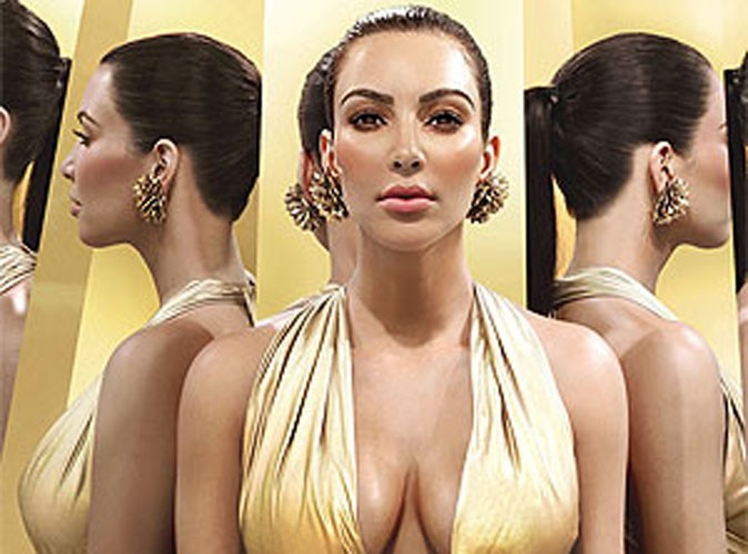 Beauté : une nouvelle publicité pour le parfum Gold de Kim Kardashian !