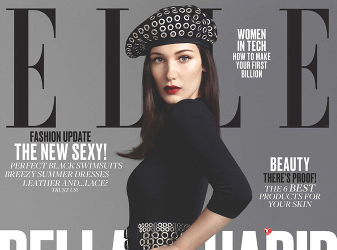 Bella Hadid : look de parisienne en couverture de ELLE US !