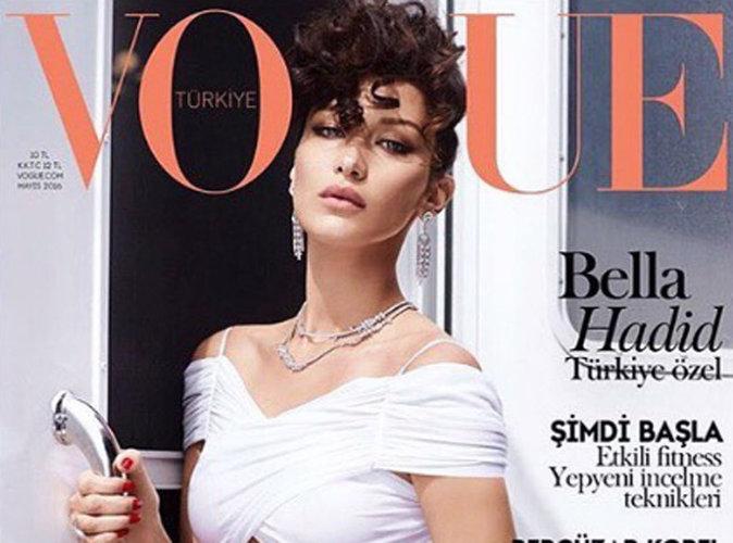 Bella Hadid : rétro et immaculée pour sa première fois !