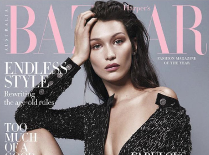Bella Hadid se dénude pour Harper's Bazaar !