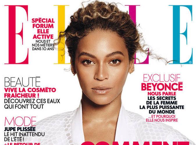 Beyoncé : après une double couv' ELLE US, queen Bey débarque en France !