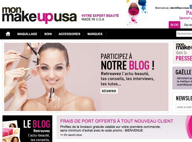 Bon plan beauté : 20% de réduction sur l'e-shop Mon Make Up USA !