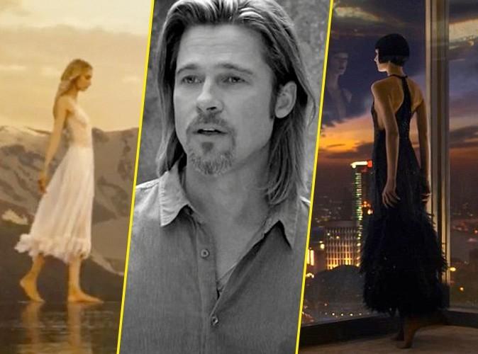 Brad Pitt : pour Chanel N°5, il choisit entre Jennifer Aniston et Angelina Jolie...