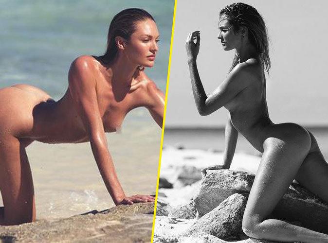 Candice Swanepoel pose entièrement nue pour un nouveau shooting mystérieux !