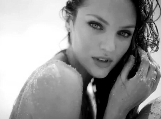 Candice Swanepoel : sexy et topless sur la plage, elle fait la promotion… d'elle-même !