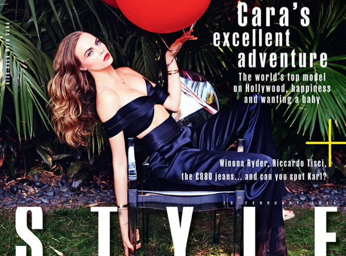 Cara Delevingne : sexy, chic et nonchalante en couverture de Style Magazine
