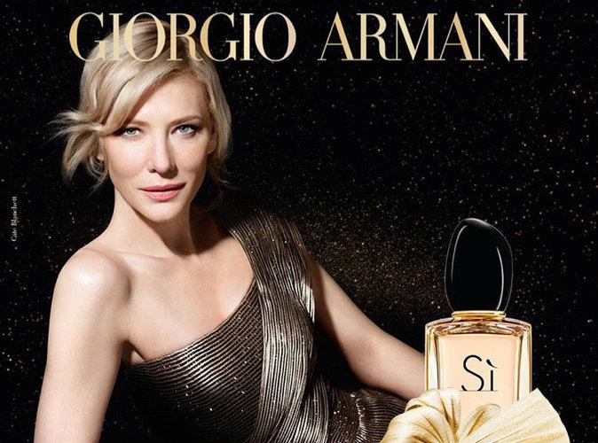 """Cate Blanchett : """"Si"""" parfaite pour la nouvelle campagne Armani !"""