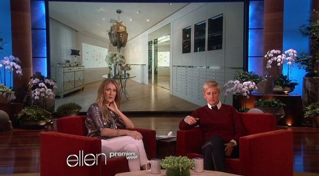 Céline Dion : sa maison de 71 millions de dollars est à vendre… mais sans les 3000 paires de chaussures de la chanteuse !