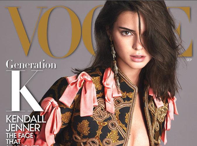 Consécration pour Kendall Jenner, elle fait la Une de Vogue US !