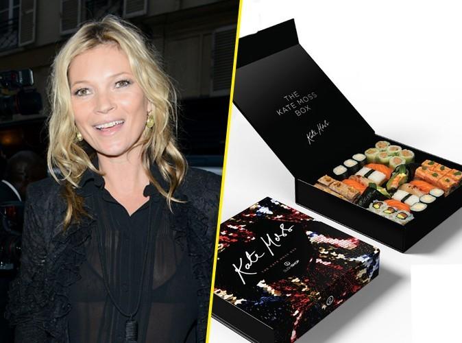 Conso : Kate Moss lance une … Sushi Box !