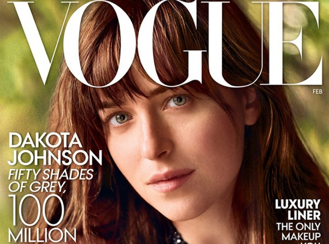 "Dakota Johnson : la star de ""50 shades of Grey"" prend la pose pour Vogue !"
