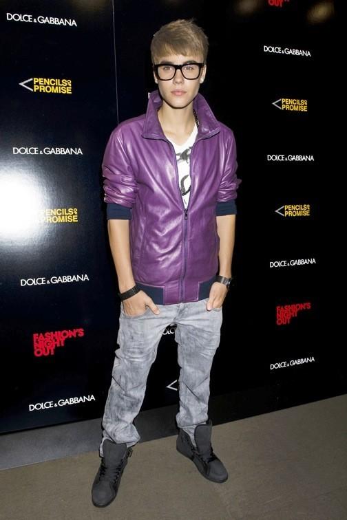 Justin Bieber chez Dolce & Gabbana
