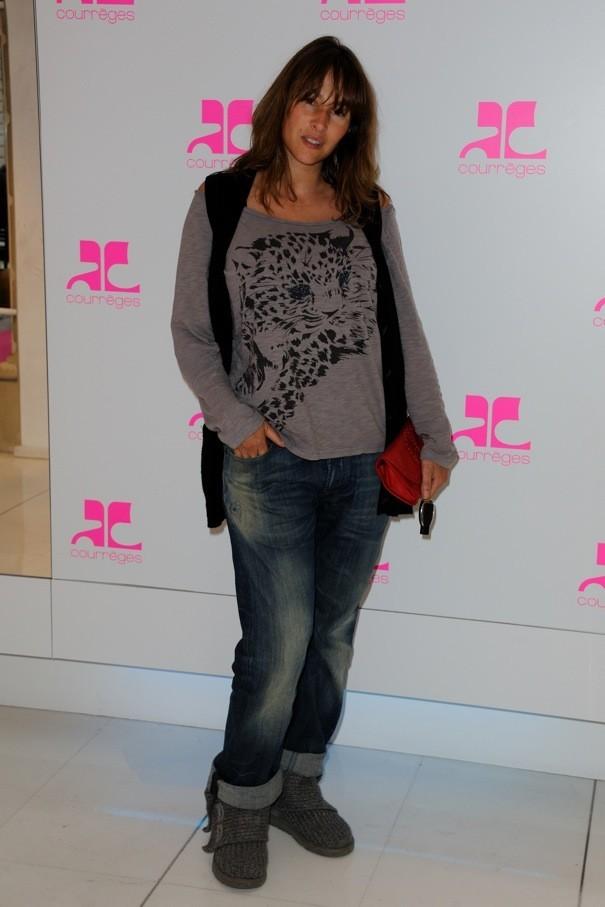 Vanessa Demouy chez Courrèges