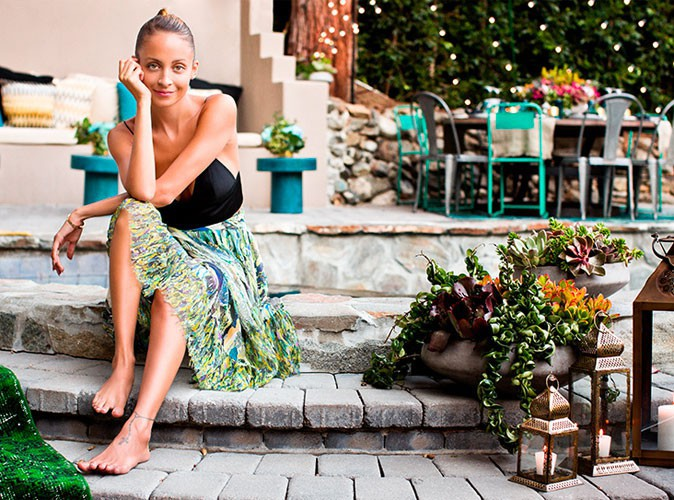 Déco : Nicole Richie vous invite dans son jardin pour une soirée entre filles !
