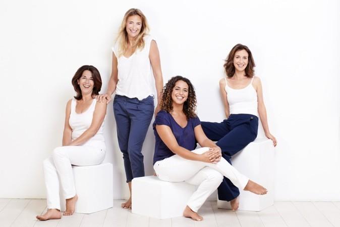 Marie, Fanny, Armelle et Rym, les quatre nouvelles égéries Dove !