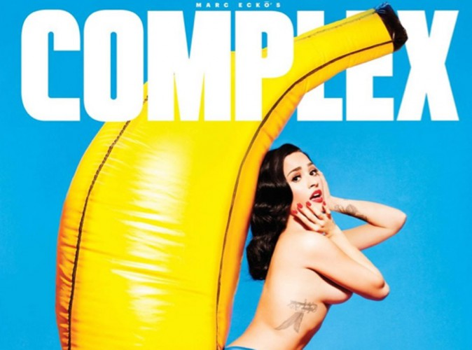 "Demi Lovato, pin-up topless et sans ""Complex"" !"